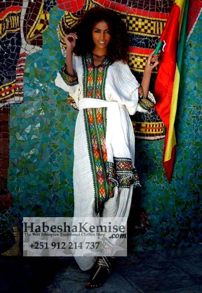 Ager Love Ethiopian Traditional Dress-29
