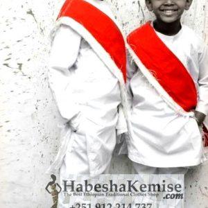 Anbessa Lij Ethiopian Traditional Dress Kids-9