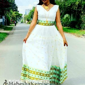 Arsema Konjo Ethiopian Traditional Dress-37