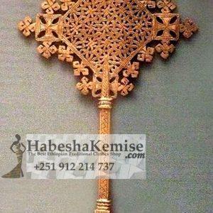 Bronze Meskel Cross Ethiopian House Decor-13