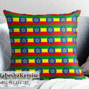 Country Flag Pillow Set Ethiopian House Decor-25
