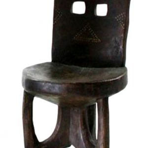Cultural Wooden Chair Ethiopian House Decor-12