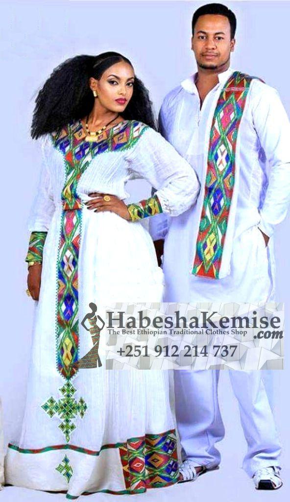 Destegna Hiwot Ethiopian Traditional Dress Wedding-27
