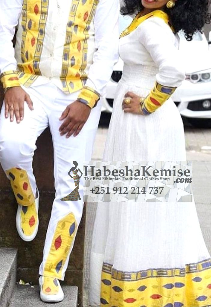 Fiker Ena Fashion Ethiopian Traditional Dress Wedding-16