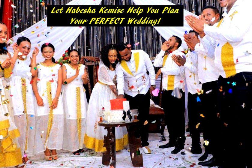 Habesha Kemise Front Page Wedding Banner