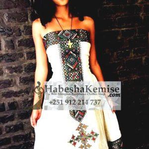 Konjit Ethiopian Traditional Dress-20