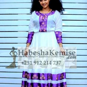 Konjit Ethiopian Traditional Dress-8