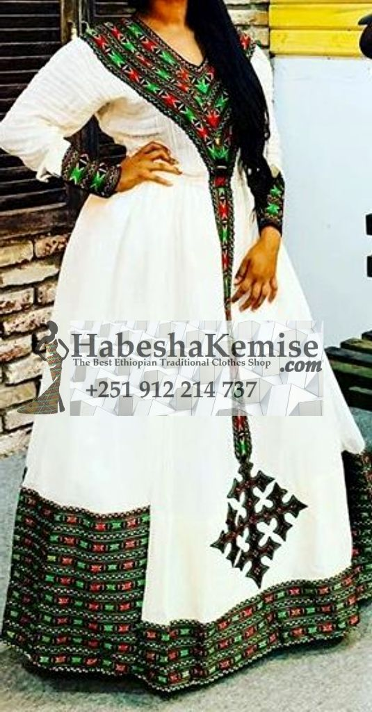 Maazas Elegance Ethiopian Traditional Clothes-84