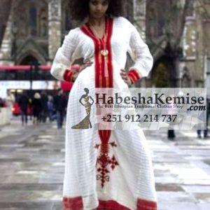 Netsanet Ethiopian Traditional Dress-15