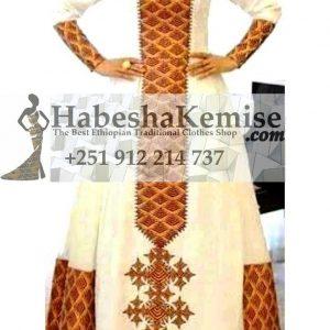 Nigist's Ethiopian Traditional Dress-6