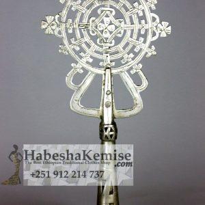 Pure Silver Cross Meskel Ethiopian House Decor-17