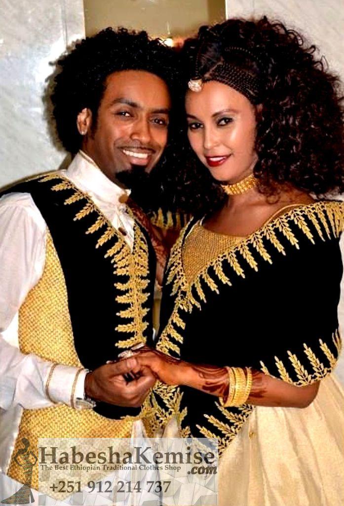 Sabas Beauty Traditional Ethiopian Wedding Clothes-59