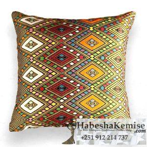 Traditional Ethiopian Enigma Tibeb Pillow Household Decor-6