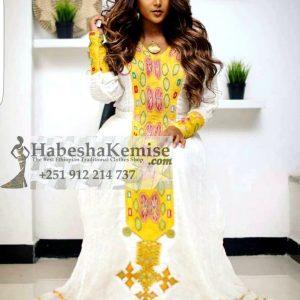Tsai Ethiopian Traditional Dress-13