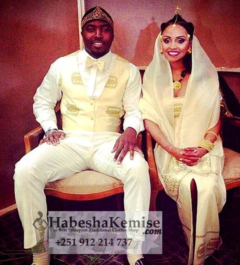 Yegna Ken Traditional Ethiopian Wedding Clothes-52